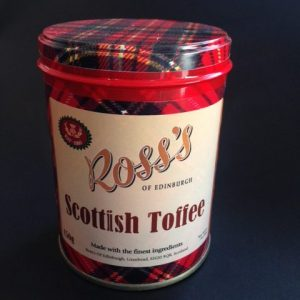 scottish toffee tin